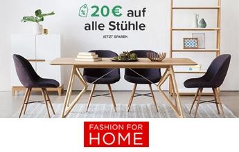 20 % Rabatt auf Stühle bei Fashion for home