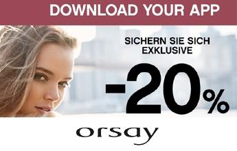20 % Rabatt bei Orsay