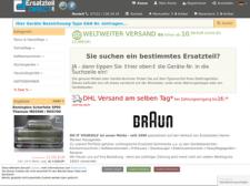 Rasierer Ersatzteil Service Österreich besuchen