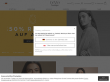 Evans Mode besuchen