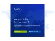 Acronis besuchen