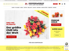 Pepperworld Hot Shop besuchen
