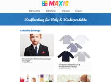 Maxis Babywelt besuchen